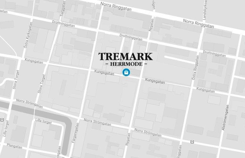 Karta som visar vad Tremark ligger